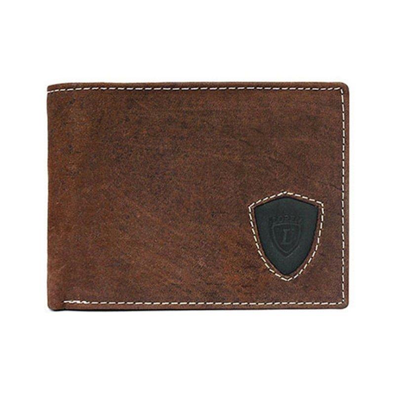 Kožená pánská peněženka Svatomír hnědá