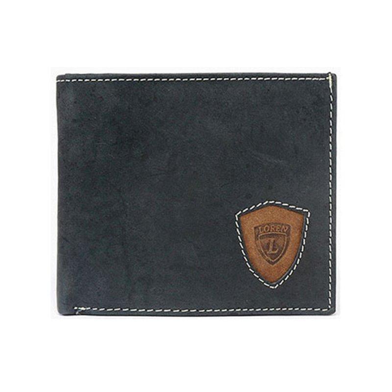 Stylová pánská kožená peněženka Viktor černá