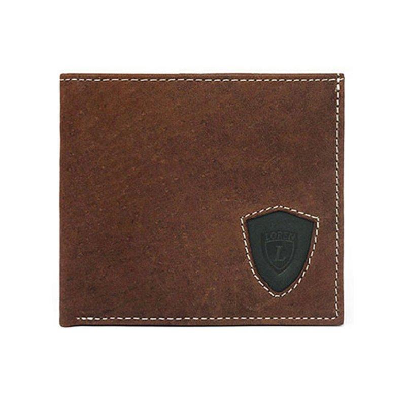 Stylová pánská kožená peněženka Viktor hnědá