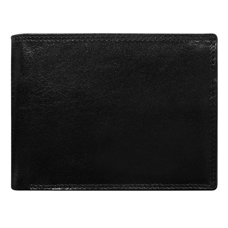 Kožená pánská peněženka Jindřich černá