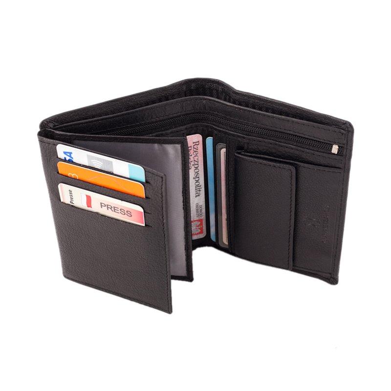 Praktická kožená pánská peněženka John
