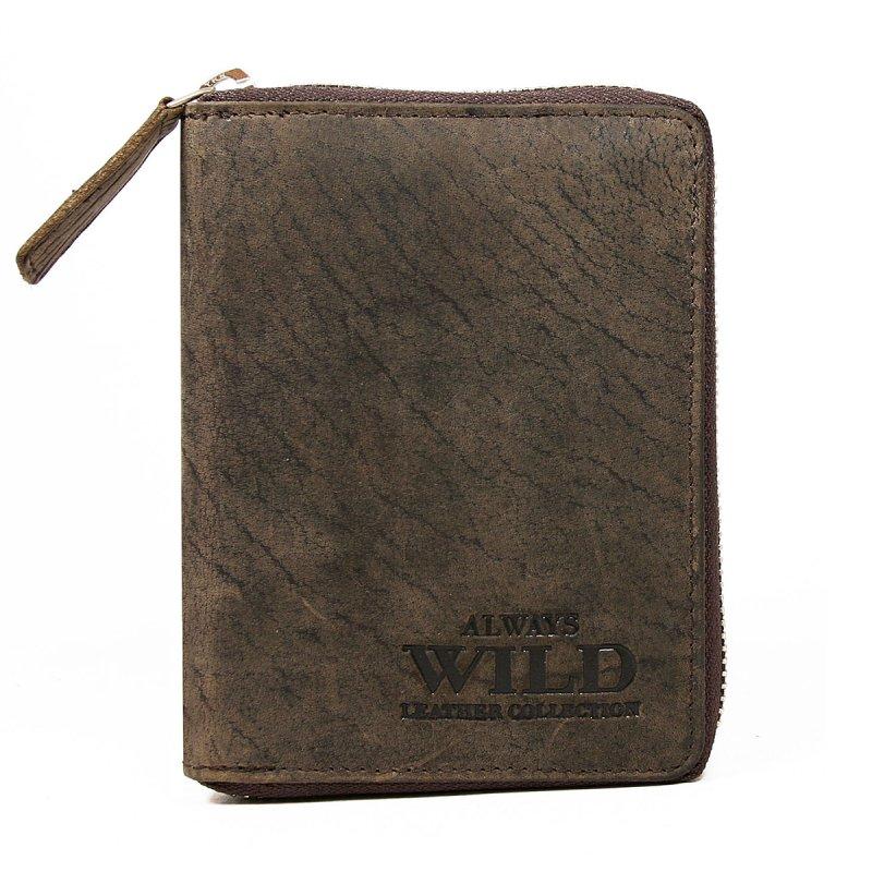 Pánská kožená trendy peněženka Camil