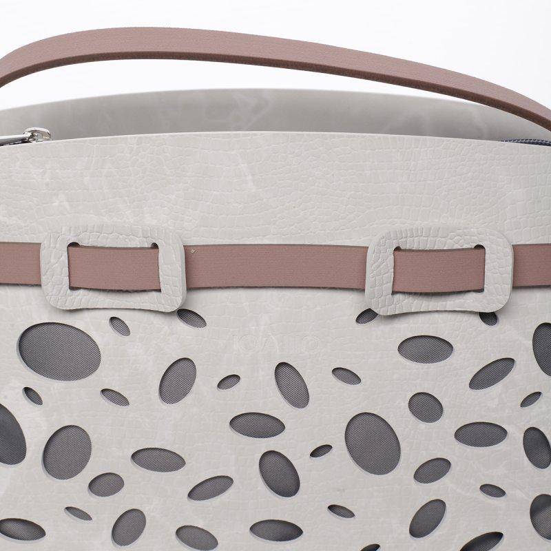 Něžná dámská italská kabelka Flora IOAMO