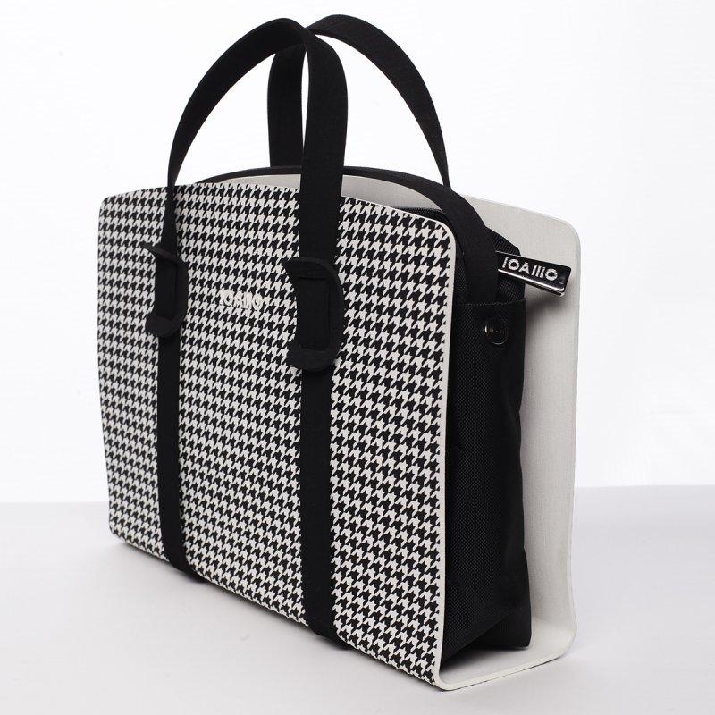 Působivá dámská italská kabelka Cecilia IOAMO