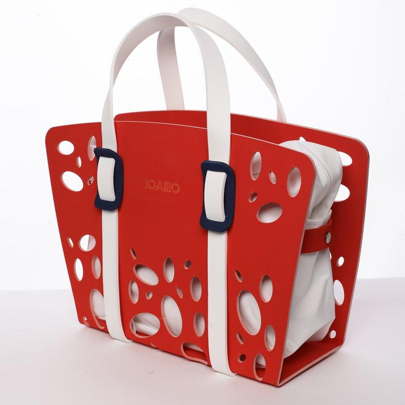 Nepřehlédnutelná italská dámská kabelka Evaristo  IOAMO