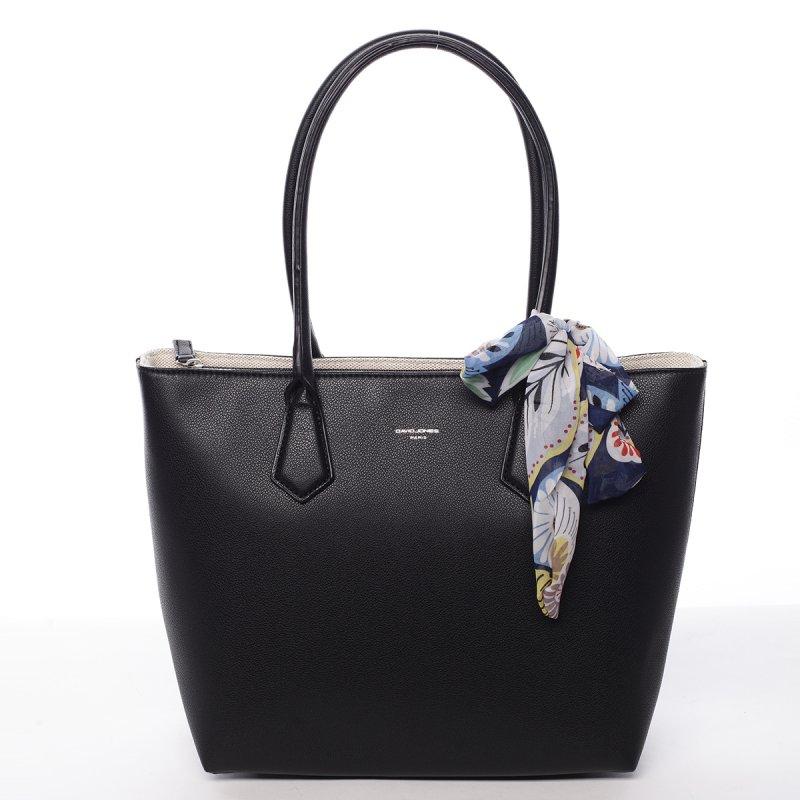 Dámská koženková kabelka Tína černá