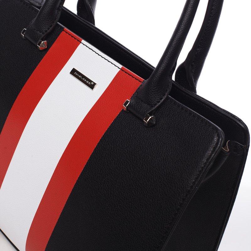 Dámská kufříková kabelka Anita černá