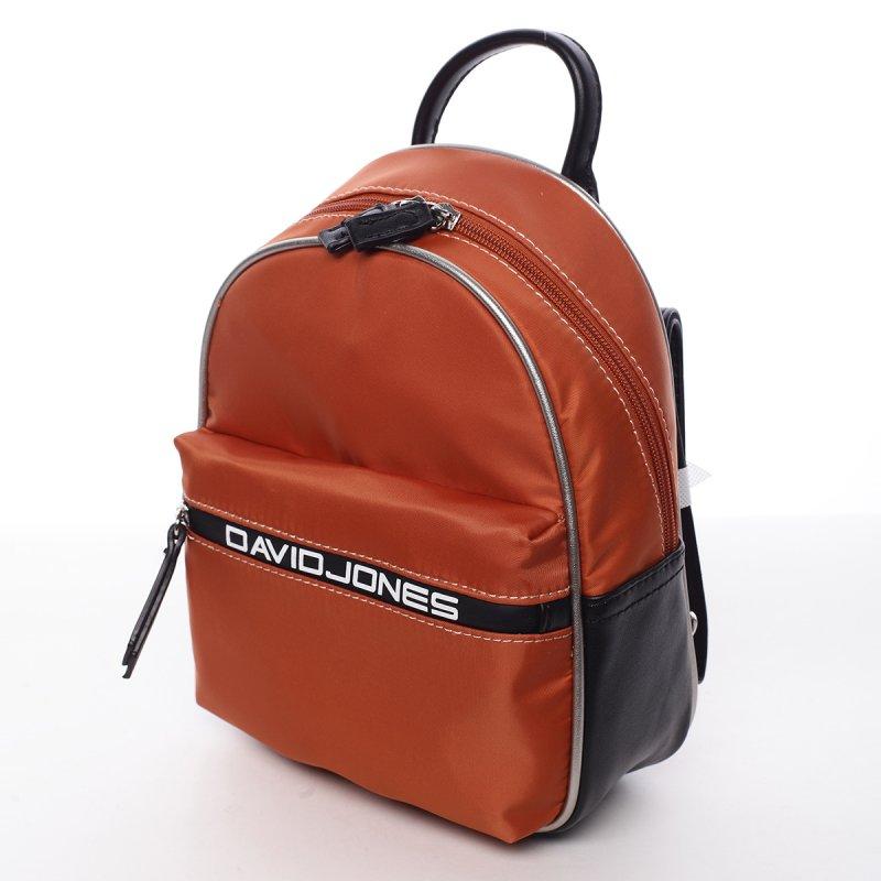 Kombinovaný dámský městský batoh Lidie oranžový