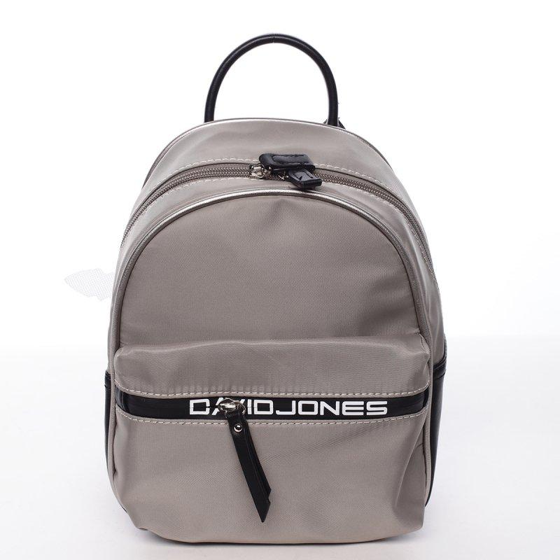 Kombinovaný dámský městský batoh Lidie šedý