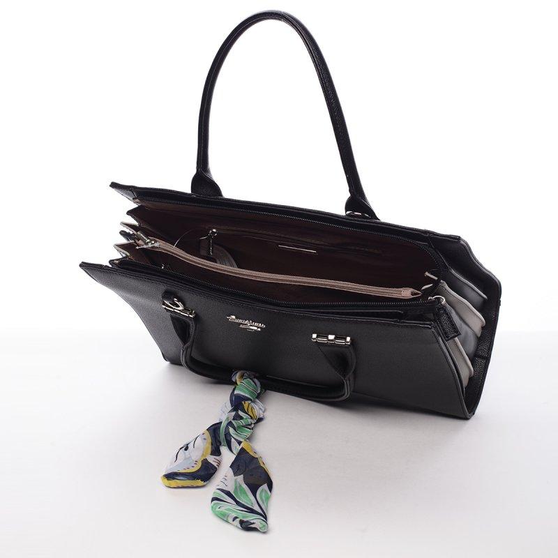 Dámská koženková kabelka Milly černá