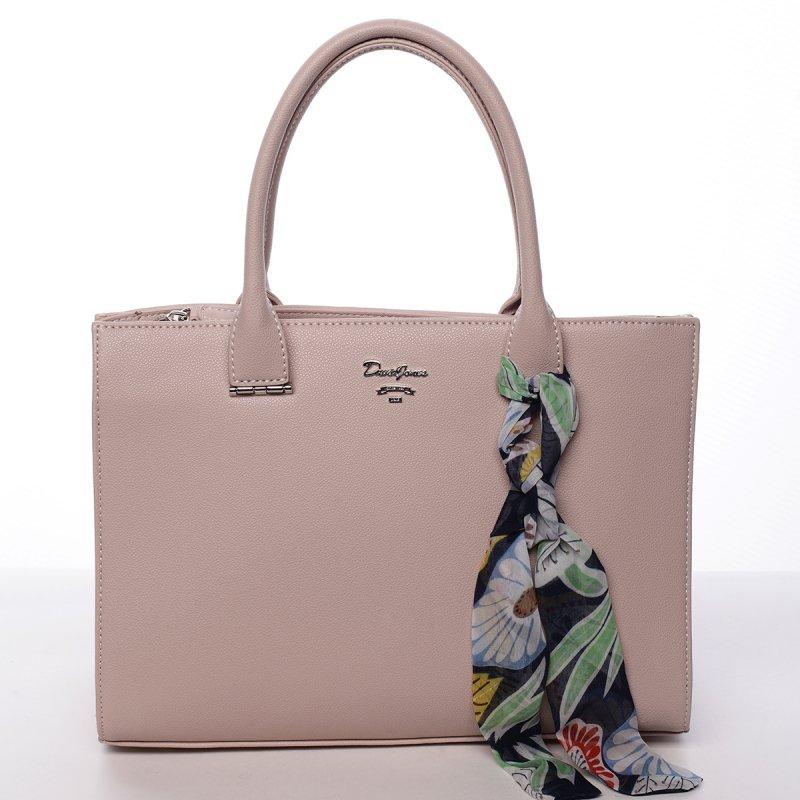 Dámská koženková kabelka Milly růžová