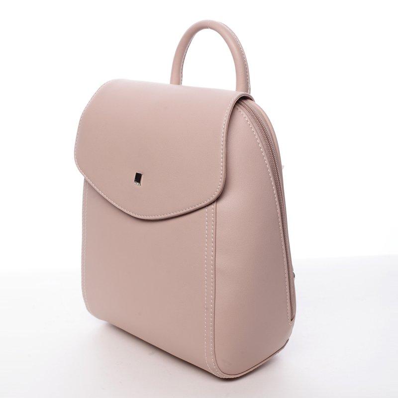 Elegantní dámský batůžek Zuzana růžová