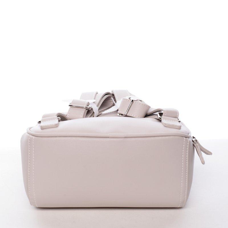 Elegantní dámský batůžek Zuzana šedá