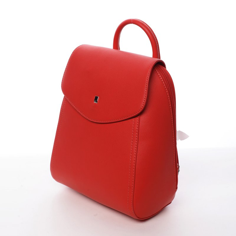 Elegantní dámský batůžek Zuzana červená