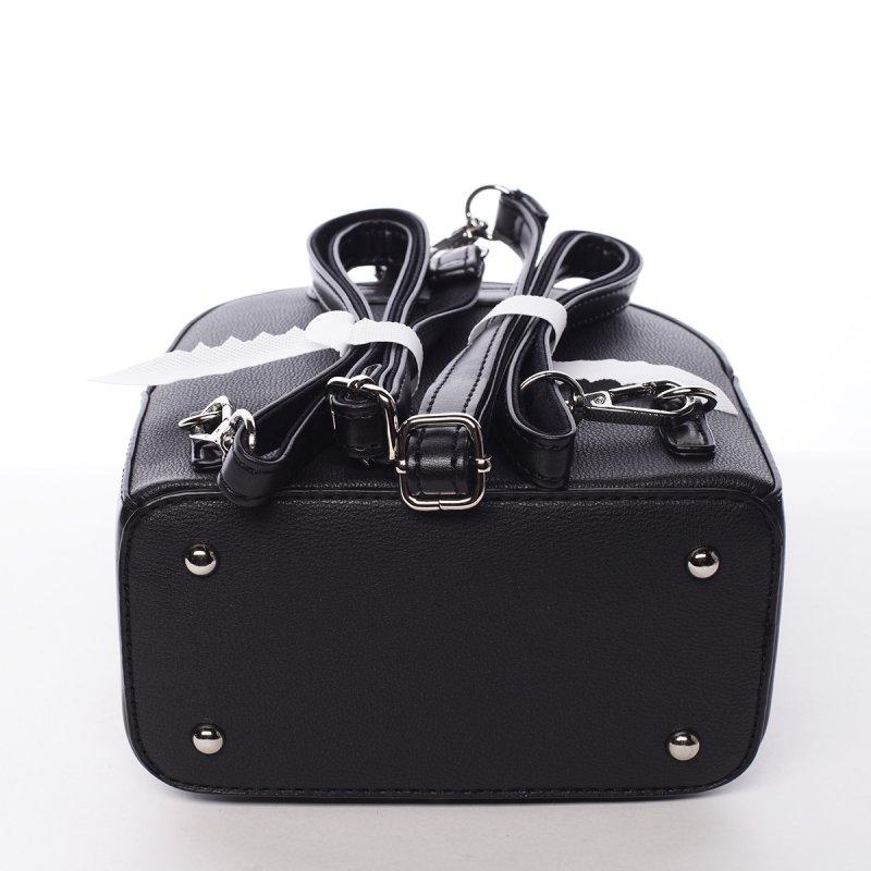 Módní stylový batůžek Jozefína černá