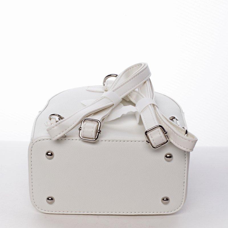 Módní stylový batůžek Jozefína bílá