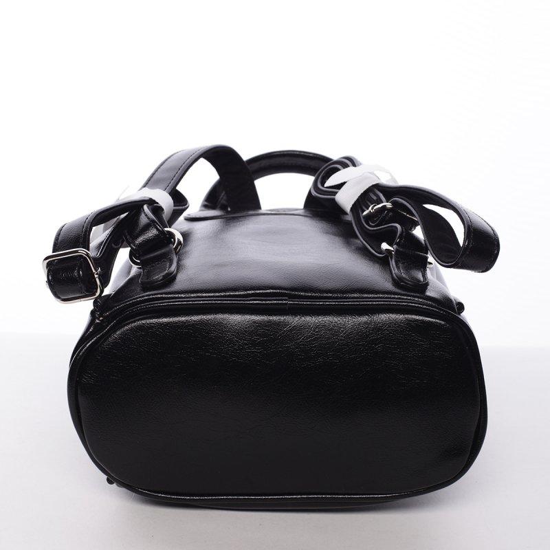 Módní dámský batůžek Alena černý