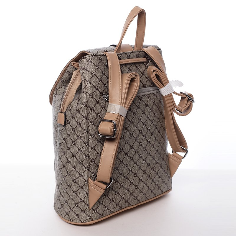 Městský módní dámský batoh Alan béžový