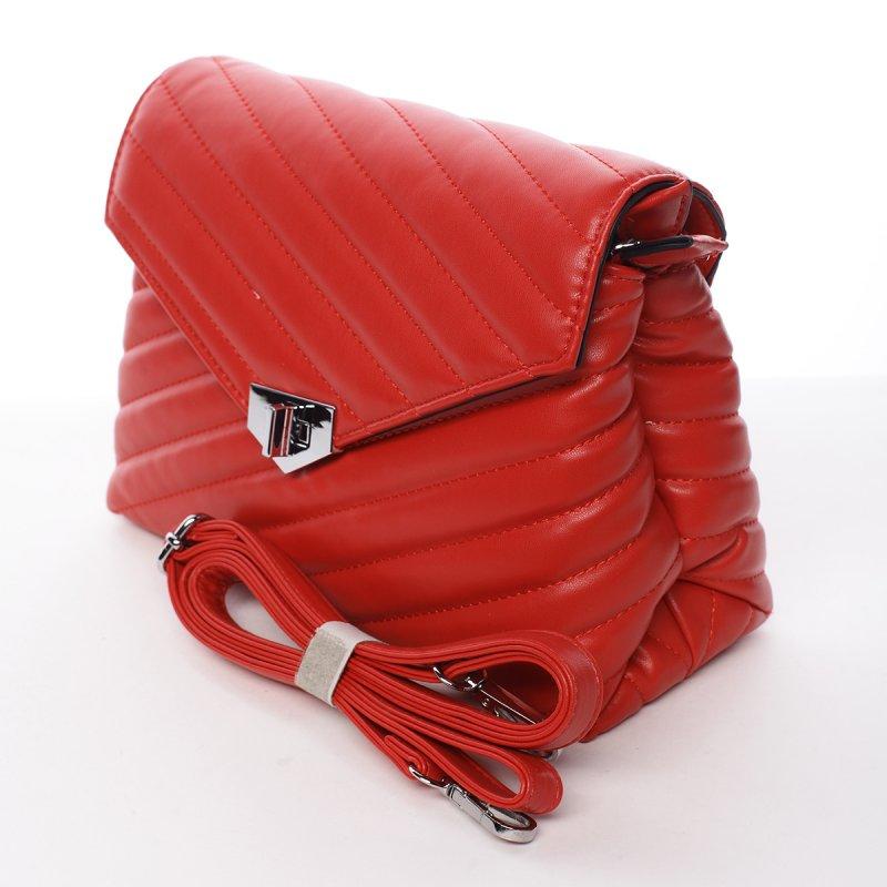 Dámská módní  crossbody Pavlína červená
