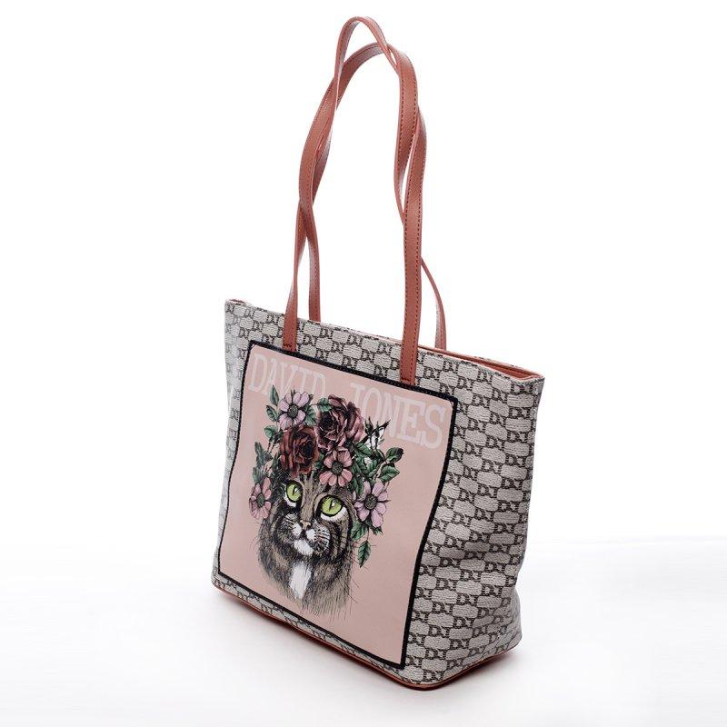 Módní dámská taška Alexandra červená
