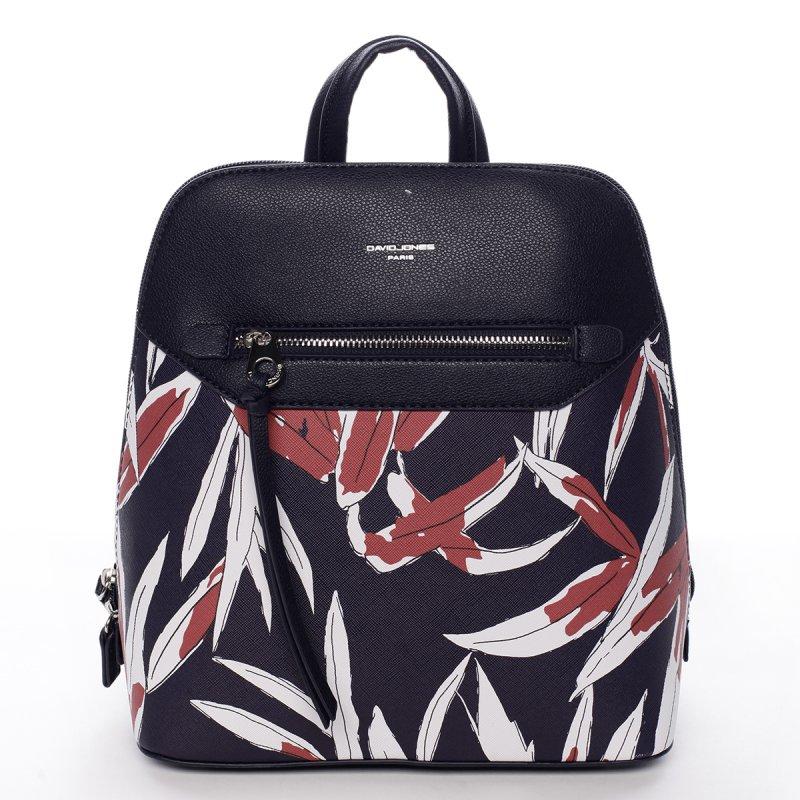Stylový koženkový batoh Sasha černý