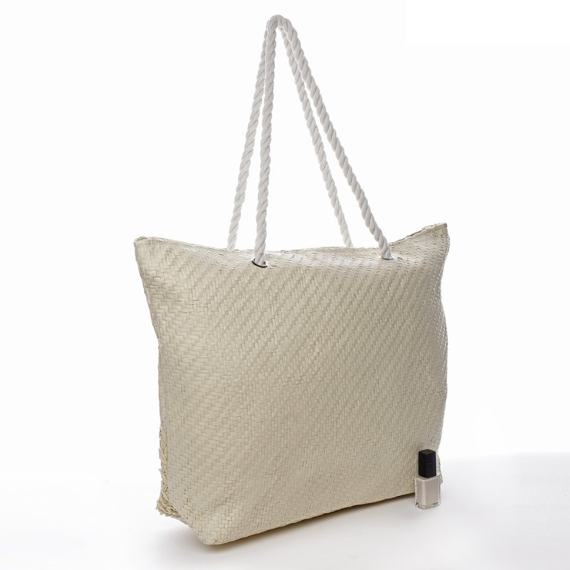 Plážová taška Seaside béžová