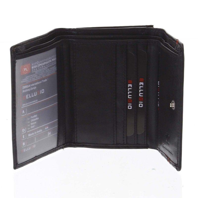 Dámská kožená peněženka Nataša černá