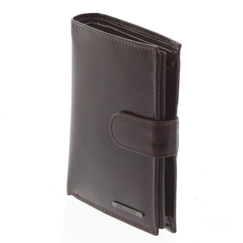 Pánská kožená peněženka Bohuš hnědá