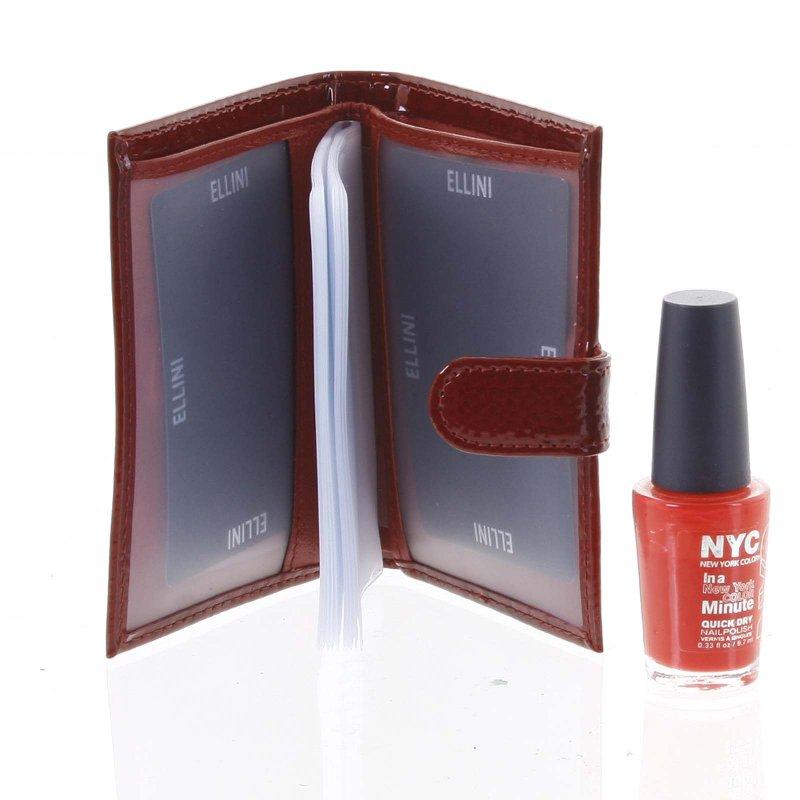 Dámská kožená peněženka Mia červená