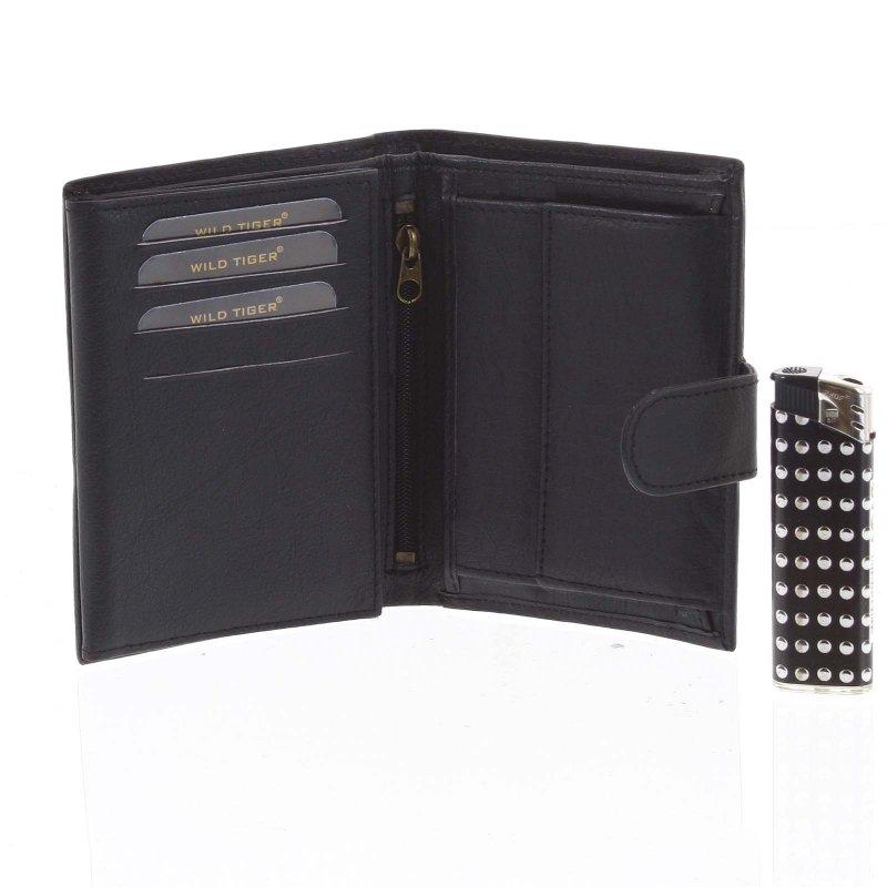 Pánská kožená peněženka Erik černá