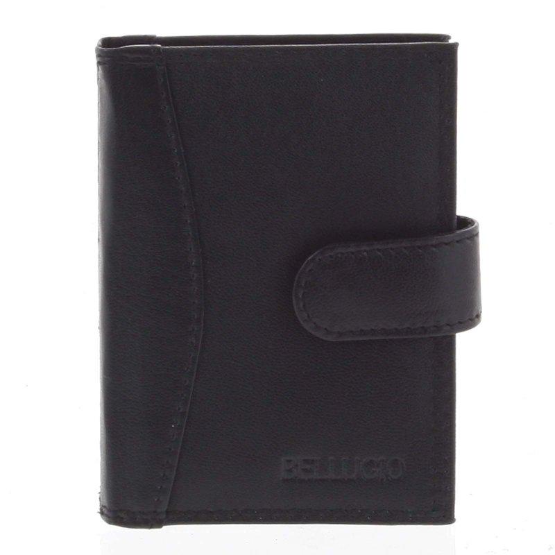 Pánská kožená peněženka Mojmír černá