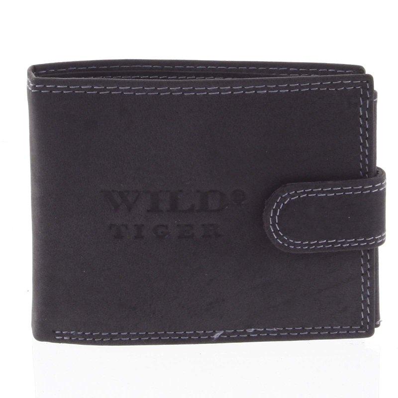 Pánská kožená peněženka Dezider černá