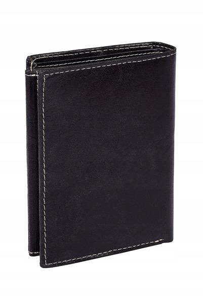 Pánská kožená peněženka Buffalo, matná černá