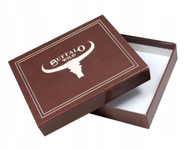 Originální pánská peněženka Buffalo Nicholas , hnědá