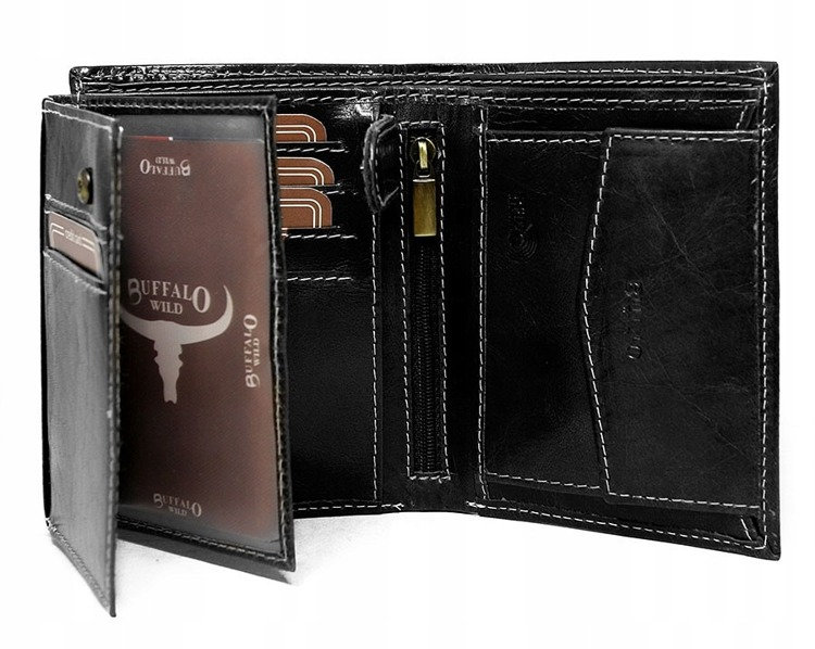 Originální pánská peněženka Buffalo Nicholas , černá