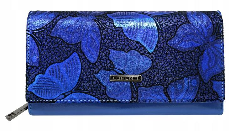 Modrá dámská peněženka Eleonora