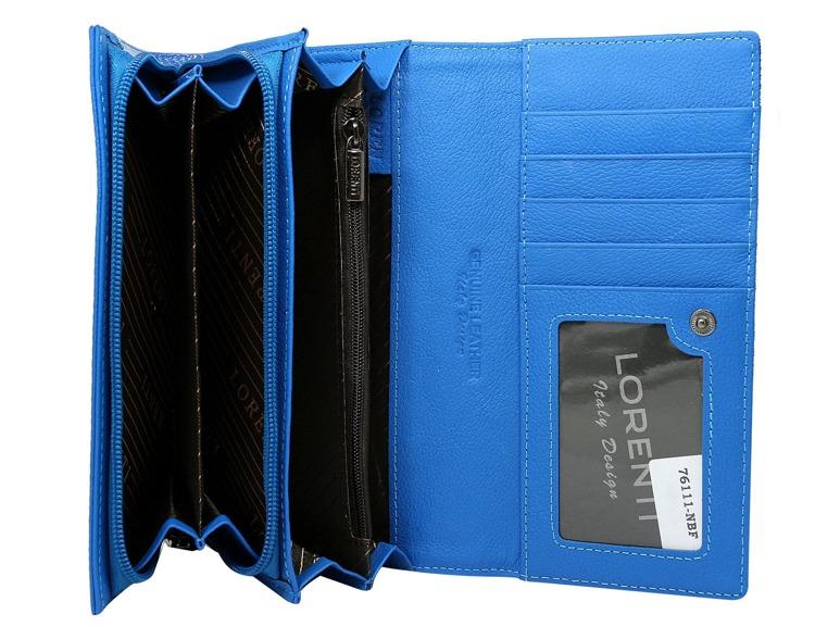 Modrá/zelená dámská peněženka Eleonora