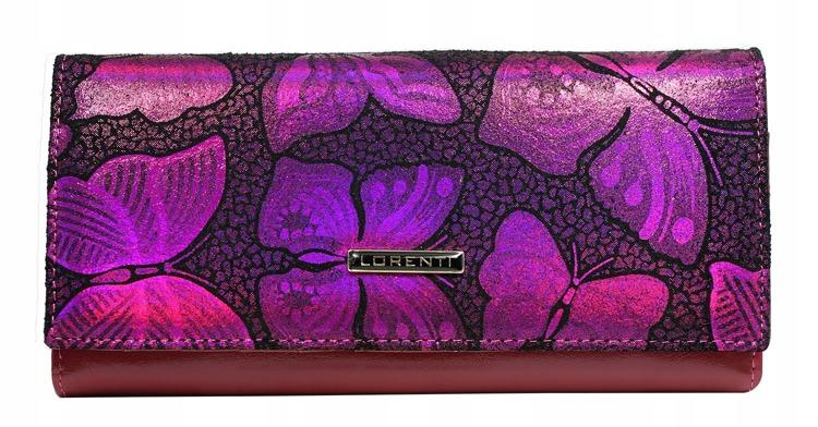Kožená dámská peněženka Diana, růžová