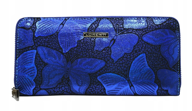 Modrá dámská peněženka Chiara