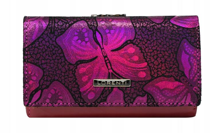 Luxusní dámská peněženka Perla, růžová