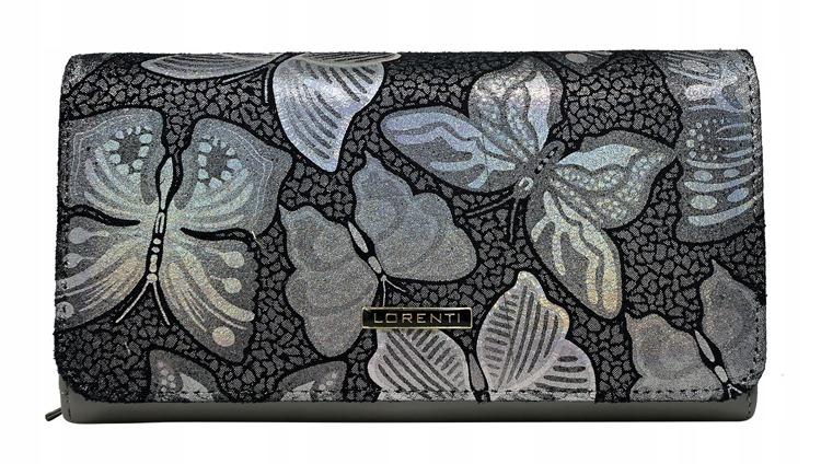 Luxusní dámská peněženka Nicoleta, šedá