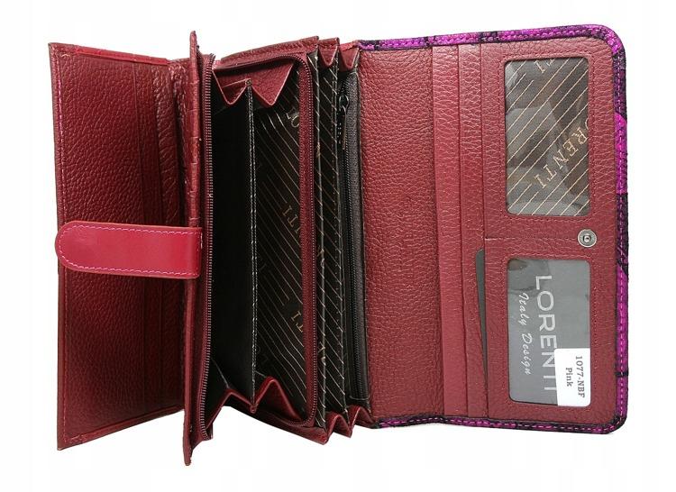 Luxusní dámská peněženka Nicoleta, růžová