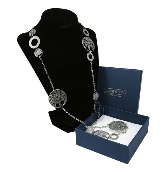 Dámský náhrdelník Strom života a moudrosti, stříbrný