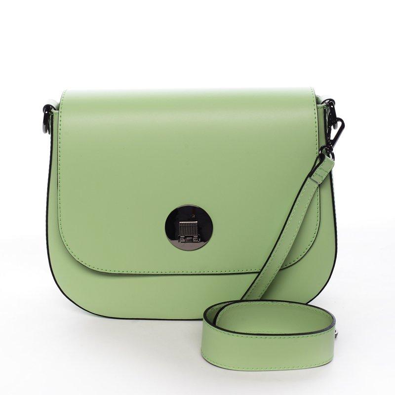 Nadčasová crossbody kabelka LAETITIA, zelená