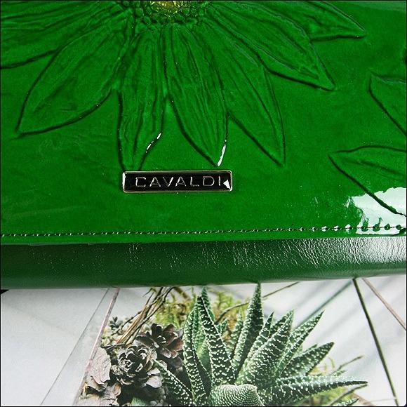 Exkluzivní dámská kožená peněženka Henna, zelená