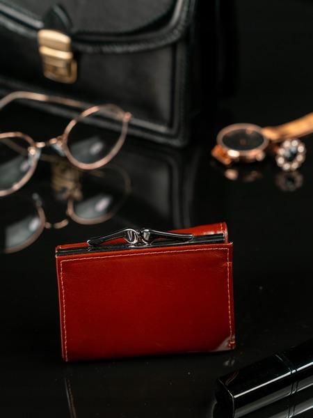 Malinká kožená peněženka Erika, hnědá