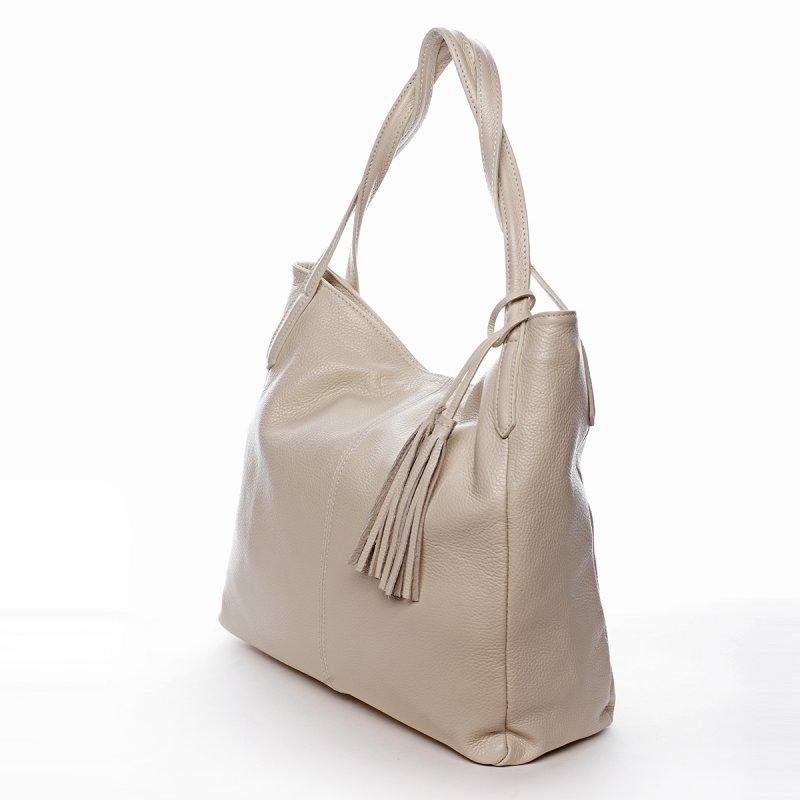 Elegantní kabelka přes rameno CECILE, béžová