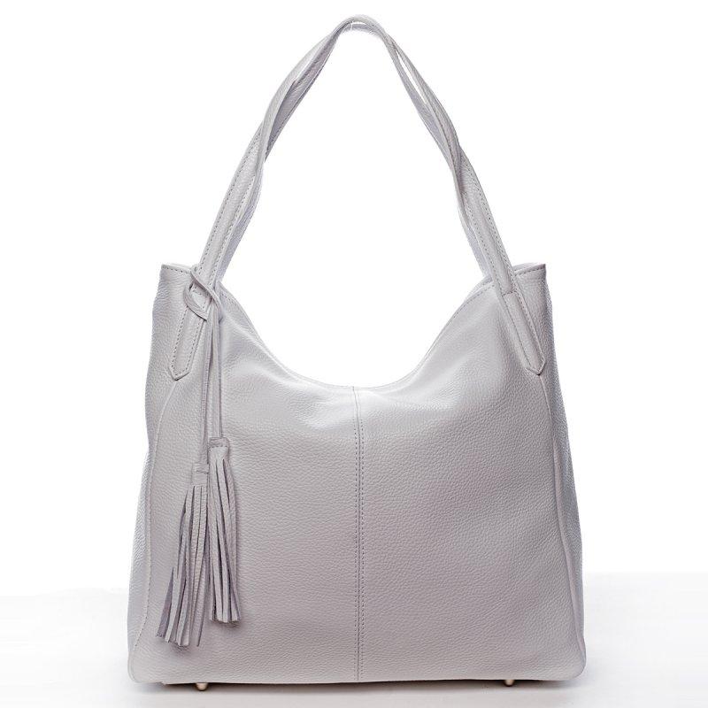 Elegantní kabelka přes rameno CECILE, bílá