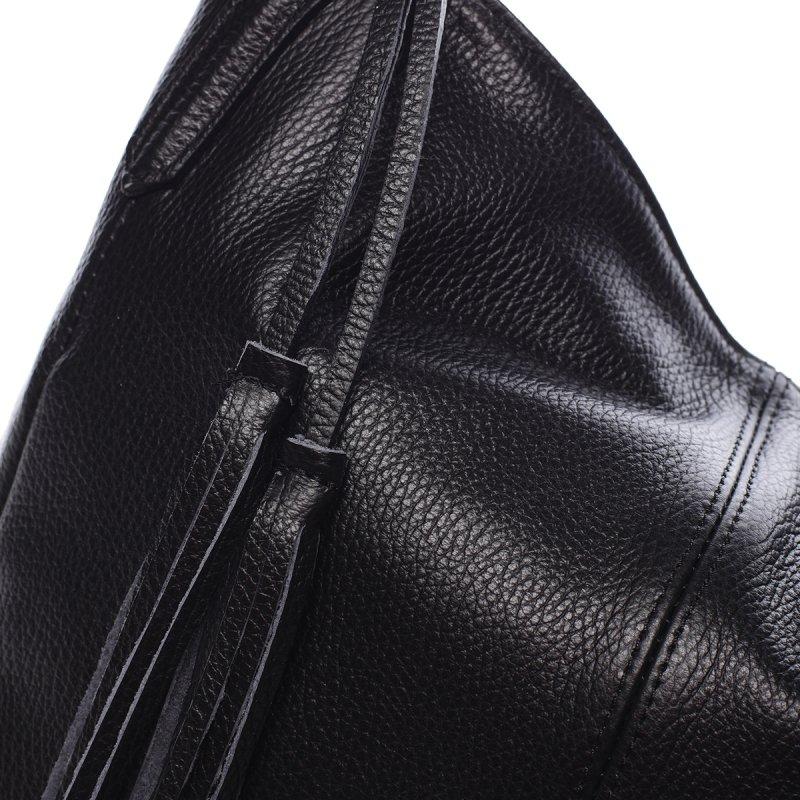 Elegantní kabelka přes rameno CECILE, černá