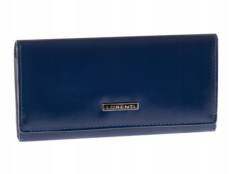 Luxusní dámská kožená peněženka Lorenti Lara, modrá